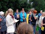 Жители поселка Затон в Исакогорке рассказали о своих бедах депутату Госдумы Ирине Чирковой