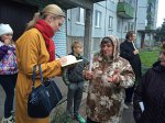 Встреча с жителями улицы Дачная в Архангельске