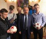 Наши юные футболисты получили напутствия Газзаева