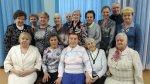 Ирина Чиркова поздравила клуб ветеранов с Новым годом и Рождеством на их первой в этом году встрече